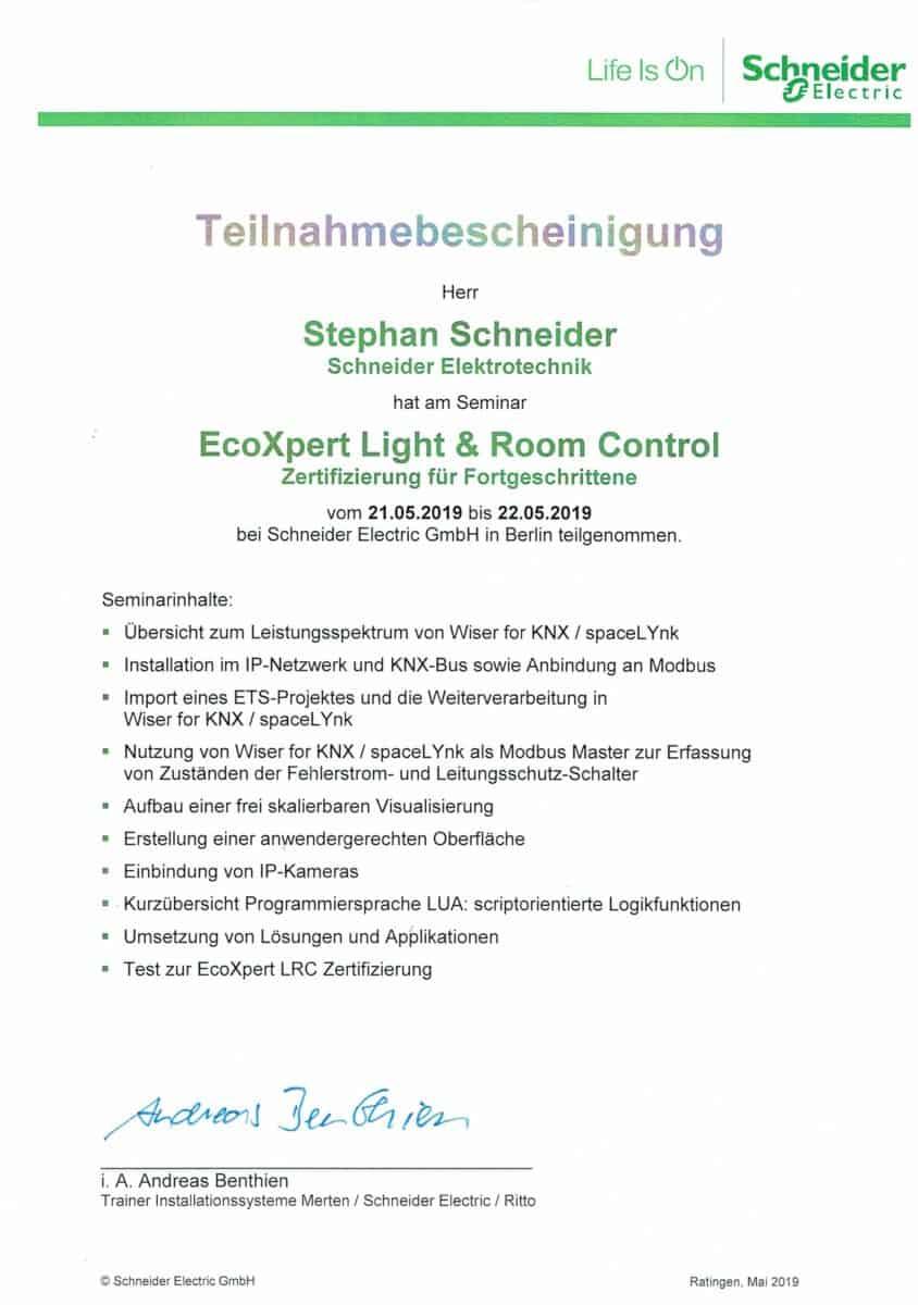 Elektrotechnik EcoXpert