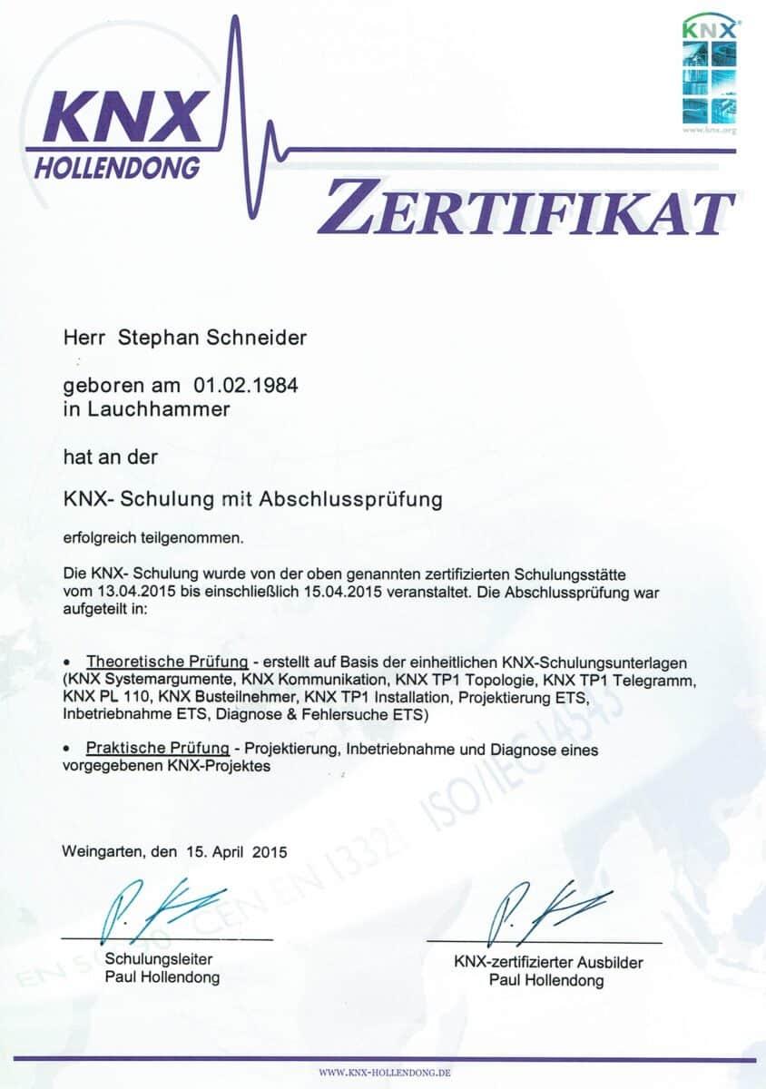 Elektrotechnik KNX Grundkurs